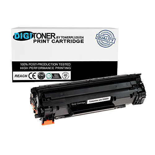 Generic Tonerplususa New Compatible HP AVE-CE285A 85A Black Laser Toner...