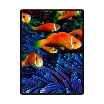 Custom playa alfombrillas duradero y cómodo manta de peces para playa 78x 60cm
