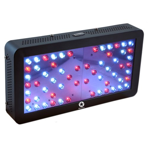 Lighthouse Hydro BlackStar V2.0 Veg/Clone LED Grow Light, 180-watt