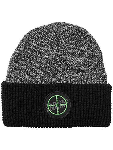 Etnies Mens Clear Shot Beanie Hat One Size Black - Etnies Mens Beanie