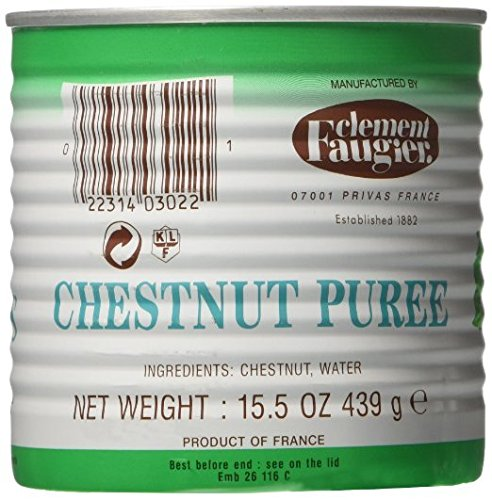 Clement Faugier Chestnut Puree From Ardeche - 15.5 Oz. (2 PACK)