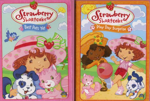Strawberry Shortcake 2 Pack Collection : Play Day Surprise , Best Pets Yet
