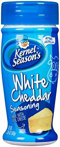 Kernel Seasons Popcorn Seasoning, White Cheddar, 2.85-Ounce Shaker Single Pack