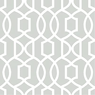 Brewster Grand Trellis Peel and Stick Wallpaper