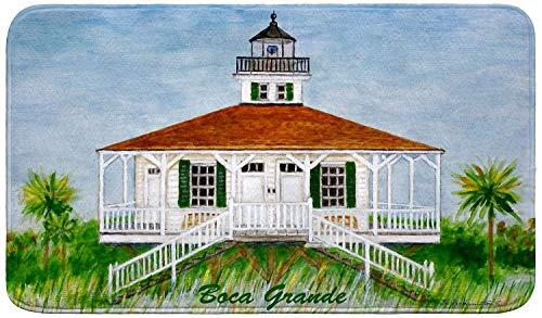 Betsy Drake Boca Grande Lighthouse Bath Mat 18x30