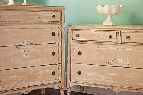 Antique Mid Sized Dresser Shabby Chic Original Furniture Decor