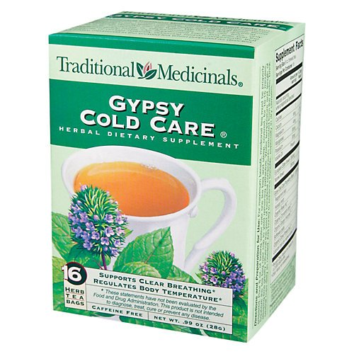 Traditional Medicinal's Gypsy Cold Care Herb Tea ( 6x16 BAG)