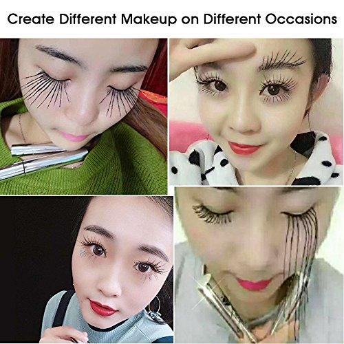 Buy mascara to make eyelashes look fake