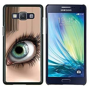 """Be-Star Único Patrón Plástico Duro Fundas Cover Cubre Hard Case Cover Para Samsung Galaxy A5 / SM-A500 ( Ojo abstracto"""" )"""