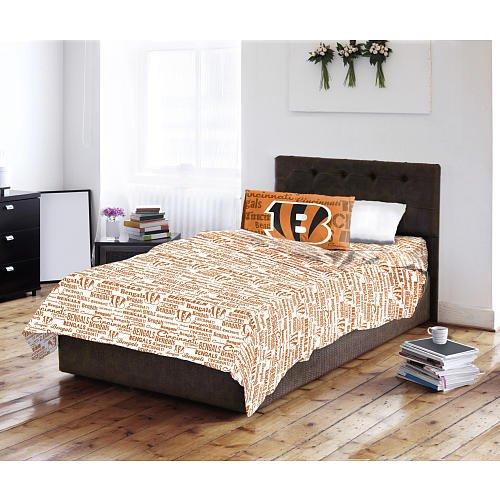 Bengals pillowcases cincinnati bengals pillowcase for Bengals bedroom ideas
