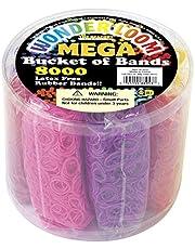 مجموعة ميجا باندز من ذا بيري، 8000 قطعة، نيون متعدد