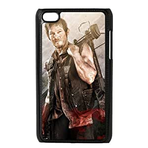 D-PAFD Phone Case The Walking Dead,Customized Case For Ipod Touch 4