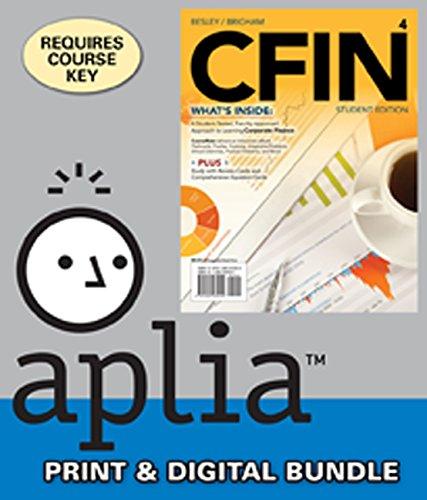 Bundle: CFIN4, 4th + Aplia Web Access