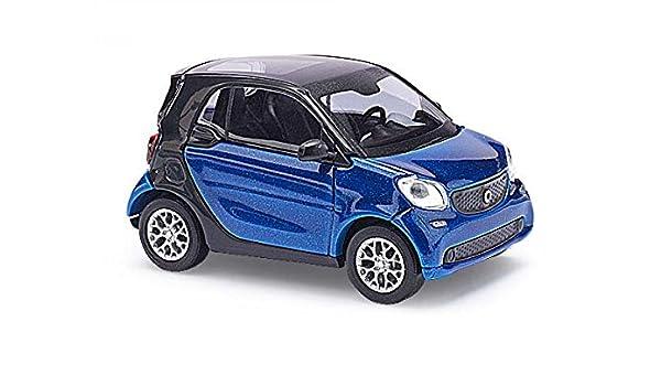 Busch 50700 - Smart Fortwo Coupé C453, CMD, vehículos, Azul ...