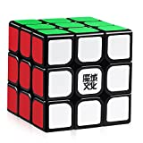 D-FantiX Moyu Aolong V2 3x3 Speed Cube 3x3x3 Magic Cube Puzzle Toy Black Enhanced Edition