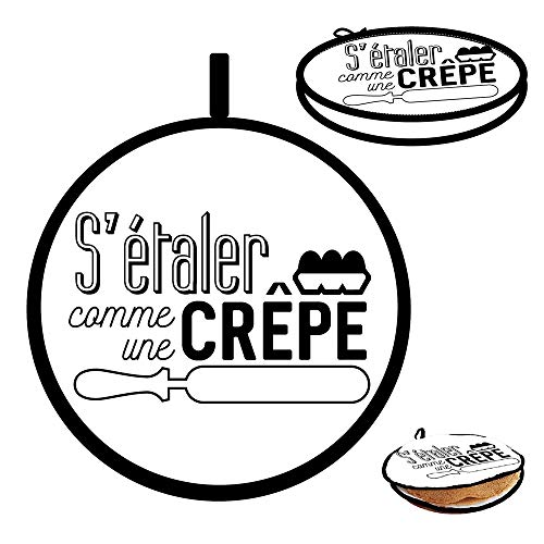 FRENCH DESIGN Rechauffe Crepes Special Micro D29 cm microondas ...