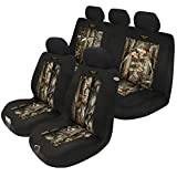 Automotive Innovations Multi-Color Polyester Front/Back Bucket Universal Fit Seat Cover Kit