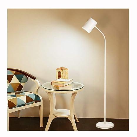 Iluminación moderna Lámpara de pie Lectura LED, Lámpara ...