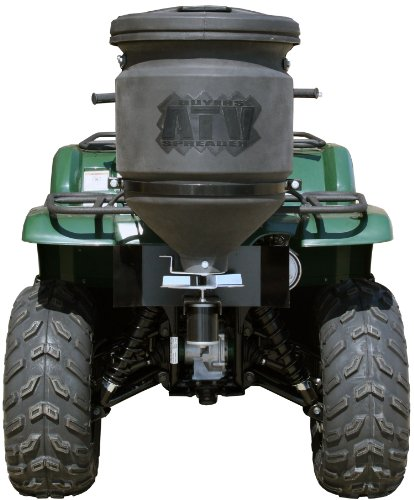 Buyers ATVS15A 15-Gallon ATV Broadcast Spreader With Rain Cover (Bracket Spreader)