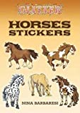 Glitter Horses Stickers (Dover Little Activity Books Stickers)