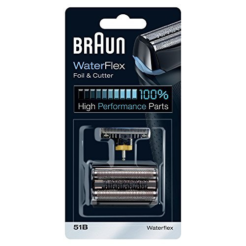 Braun 51B Electric Shaver Replacement Foil and Cutter - Black by Braun Procter & Gamble