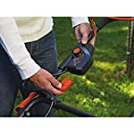 BLACK+DECKER 40V MAX Cordless Lawn Mower, 20-Inch (CM2043C) 17 Two 40V max Lithium ion batteries are included for twice the runtime Mulching, bagging and side discharge of grass clippings gives you 3-in-1 versatility Mow right up to edges and spend less time trimming thanks to the edgemax design