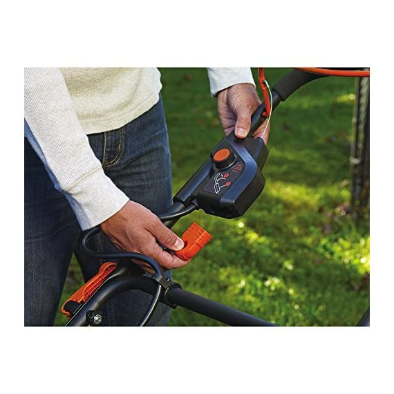 BLACK+DECKER 40V MAX Cordless Lawn Mower, 20-Inch (CM2043C) 7 Two 40V max Lithium ion batteries are included for twice the runtime Mulching, bagging and side discharge of grass clippings gives you 3-in-1 versatility Mow right up to edges and spend less time trimming thanks to the edgemax design
