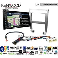 Volunteer Audio Kenwood Excelon DNX694S Double Din Radio Install Kit with GPS Navigation System Android Auto Apple CarPlay Fits 2004-2006 Nissan Maxima (Without Bose)