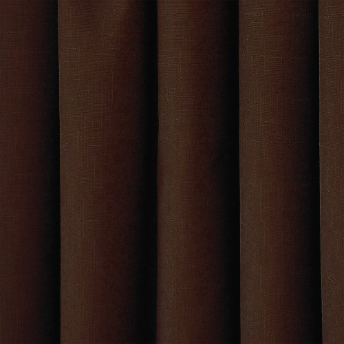 Eclipse 10707042X084CH Kendall 42-Inch by 84-Inch Thermaback Blackout Single Panel, Chocolate