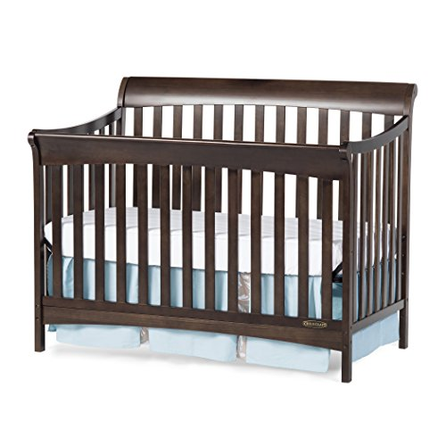 Child Craft Coventry 4-in-1 Convertible Full-Size Crib, Slate