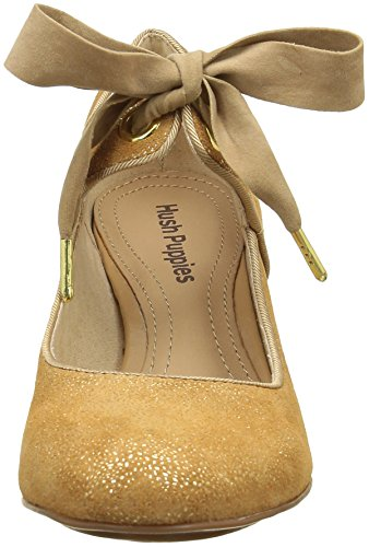 looking for online sale cheap price Hush Puppies Women's Margot Platform Heels Gold (Or Bronze) outlet factory outlet how much for sale discount best store to get K4QAWMHo