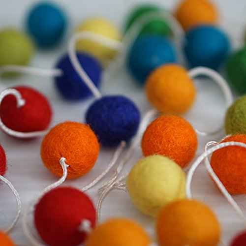 Decomod 100 Wool Garlands Balls product image