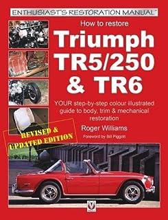 triumph tr6 operation manual official workshop manuals brooklands rh amazon com triumph tr6 repair manual triumph tr6 parts manual