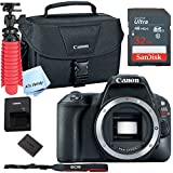Canon SL2 Digital SLR Camera (Body Only) (Black) with Free SanDisk Ultra 32GB SDHC Card