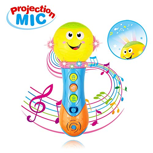 Toy for 6-12 Month Baby Toddler, Toy Microphone for 9-18 Month Girl Boy Toys Gift for 1-3 Year Old Babies Girl Music Toy for 12-24 Month Toddler Boys Birthday Gift Toy Age 1 2 3 by Jeacy (Image #7)