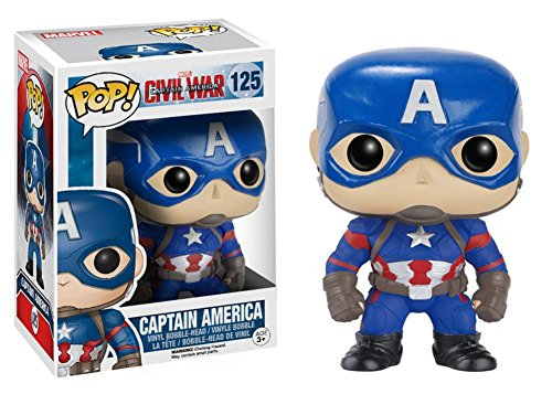 Captain America: Civil War - Captain America POP Figure Toy 3 x 4in