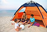 Wacces Fast Track 2-Person Dome Type Beach And Park Tent ( Orange – Navy )