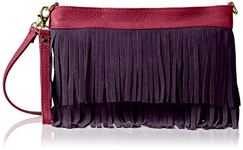 Girly Handbags Gina, Sac bandoulière Violet (Purple)