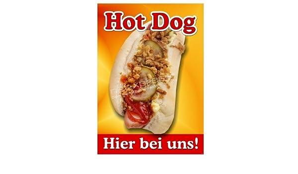 Cartel para Hot Dog Publicidad Din A1, Cartel de Publicidad ...