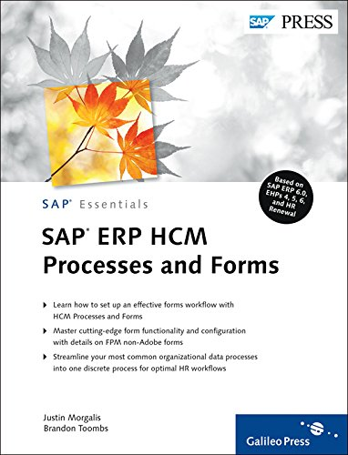 SAP ERP HCM Processes and Forms ebook