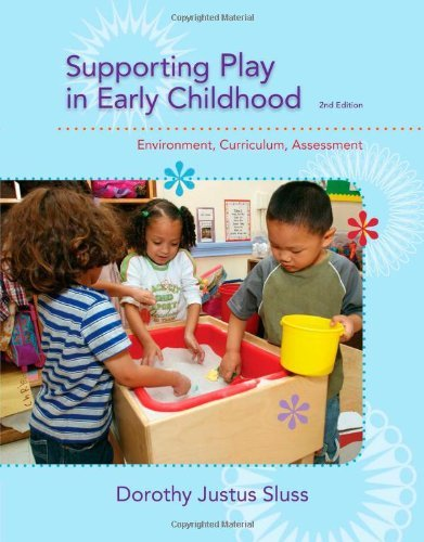 Supporting Play in Early Childhood: Environment, Curriculum, Assessment by Sluss Dorothy Justus (2014-01-01) Paperback