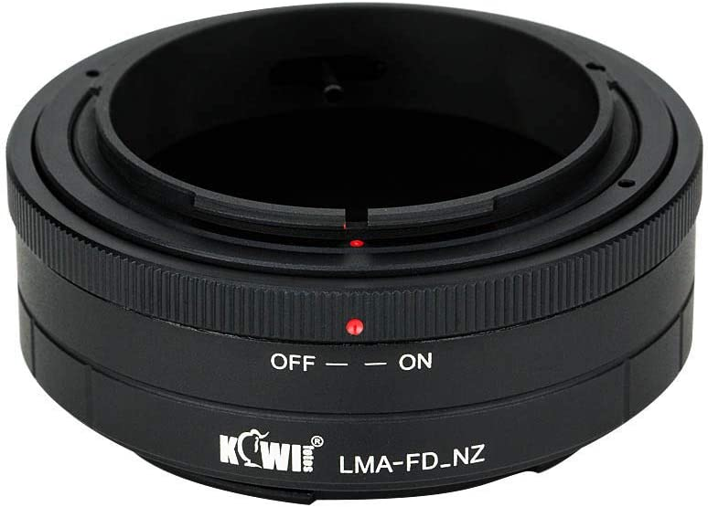 Manual Lens Mount Adapter for FD Lens to Nikon Z Mount Adapter,Compatible with Canon FD Lens and Nikon Z-Mount Mirrorless Camera Z6 Z7