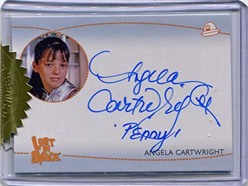 "Lost in Space Archives S2 AI4 Autograph Angela Cartwright""Penny"""