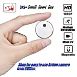 SVD Inc. Mini Wireless Spy Camera/Sports Camera Recorder, 1080P HD, Built-in Battery. 8GB Memory Loop Recording with Motion Detector. with Free Bicycle/Bike Mount. for Home, Sports, Car, Office etc. For Sale