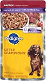 PEDIGREE Little Champions Senior Complete With Lamb and Rice Wet Dog Food 5.3 Ounces (Pack of 24) For Sale