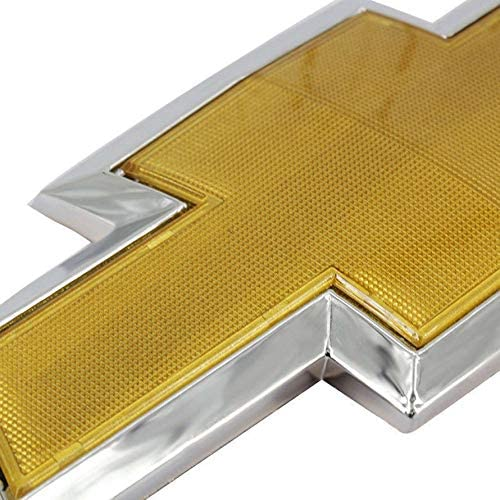 Eduton Chrome Logo Sign 3D Auto Car Front Hood Emblem Badge Self-Adhesive Nameplate for Chevrolet Cruze Car Accessories Silver /& Gold Color