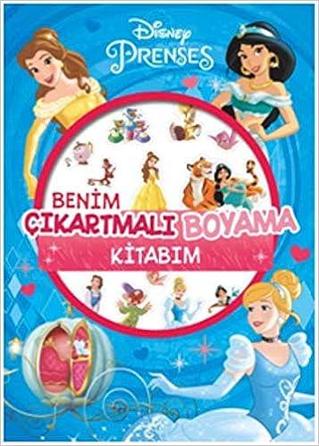 Disney Prenses Benim çıkartmalı Boyama Kitabım 9786050955279