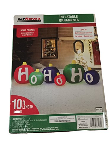 Inflatable Ornaments Light Parade Outdoor Christmas