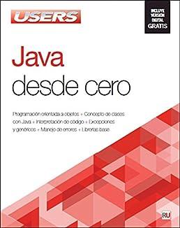 java desde cero manuales users spanish edition users staff rh amazon com
