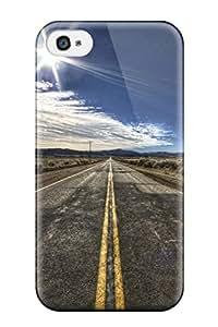 New Style MaritzaKentDiaz The Road Premium Tpu Cover Case For Iphone 4/4s